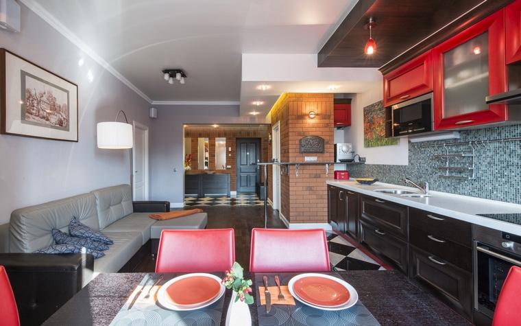 Квартира. кухня из проекта , фото №63009