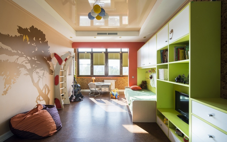 Квартира. детская из проекта , фото №63016