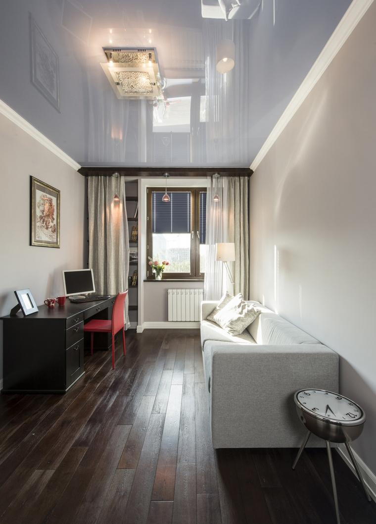 Квартира. кабинет из проекта , фото №63012