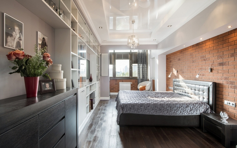 Квартира. спальня из проекта , фото №63013