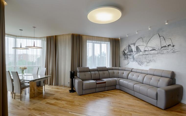 интерьер гостиной - фото № 63073