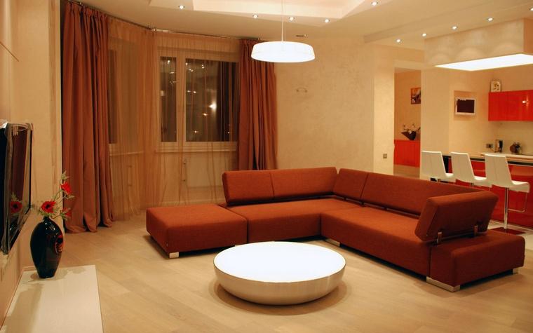 интерьер гостиной - фото № 63129