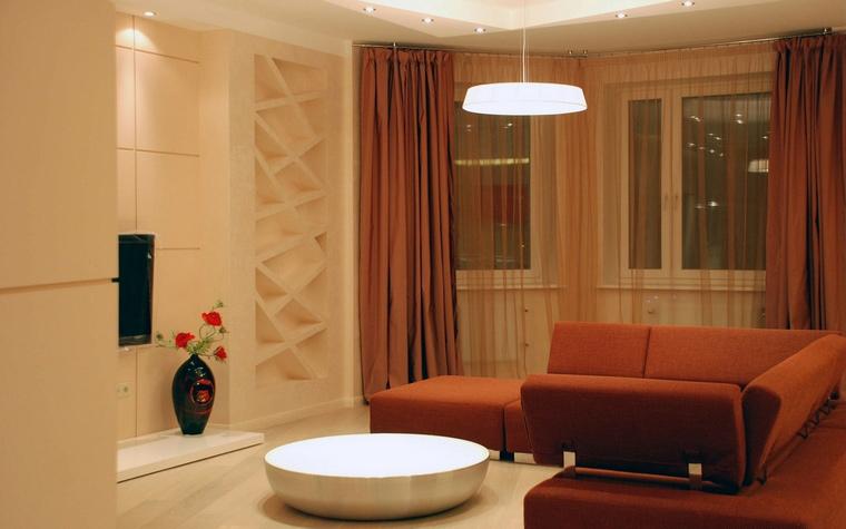интерьер гостиной - фото № 63128