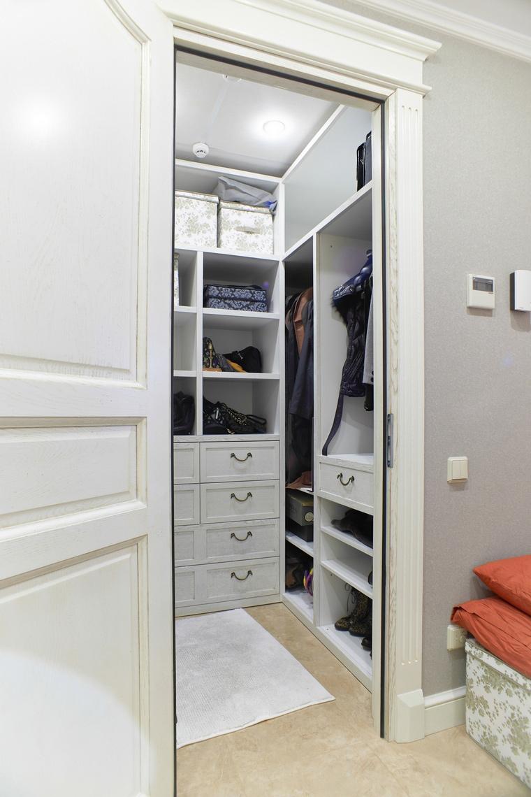 Квартира. гардеробная из проекта , фото №63151