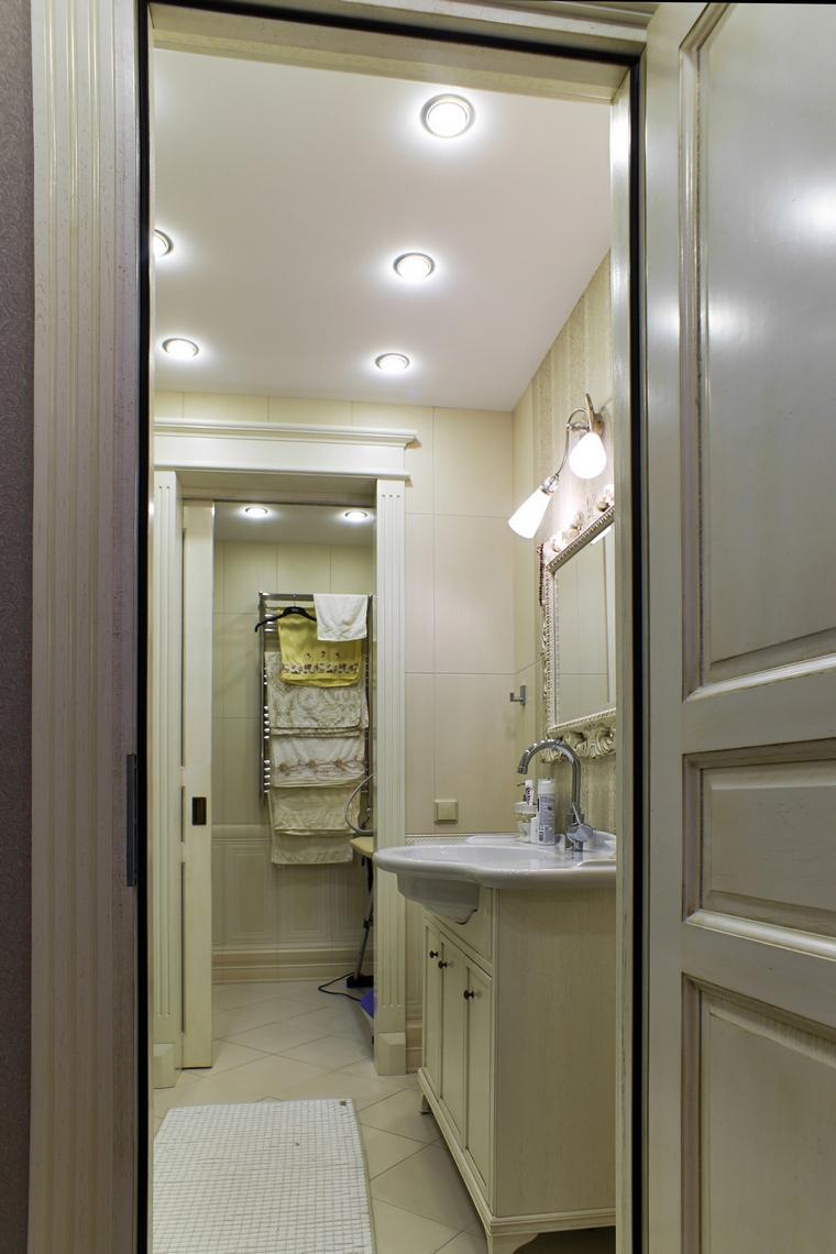 Квартира. ванная из проекта , фото №63154