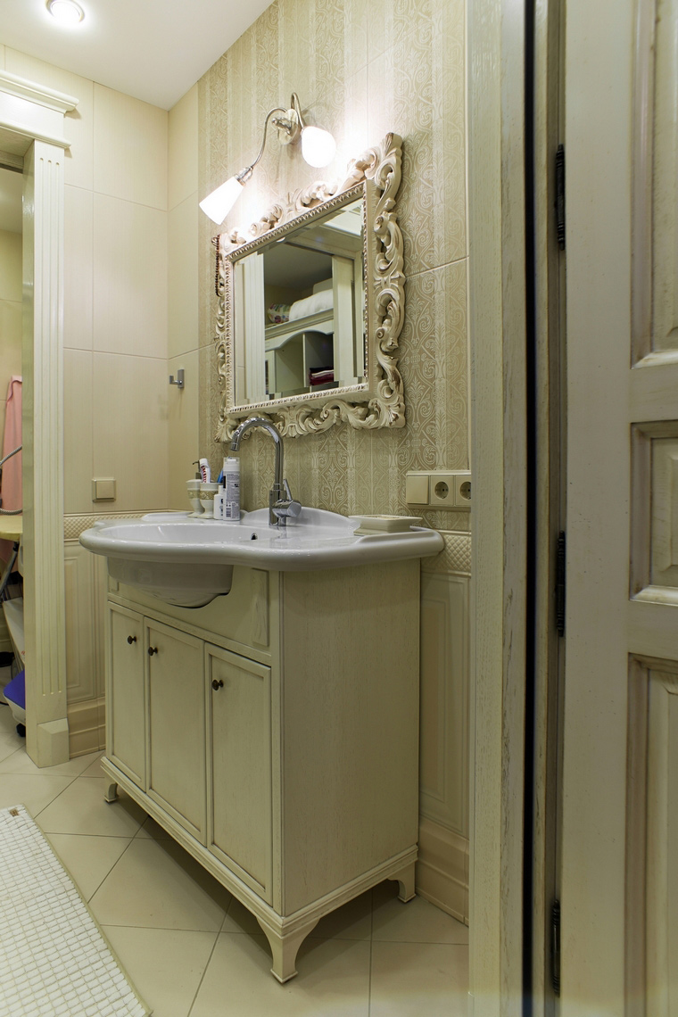 Квартира. ванная из проекта , фото №63155