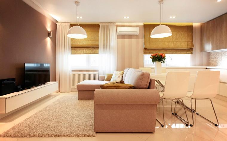 интерьер гостиной - фото № 63163