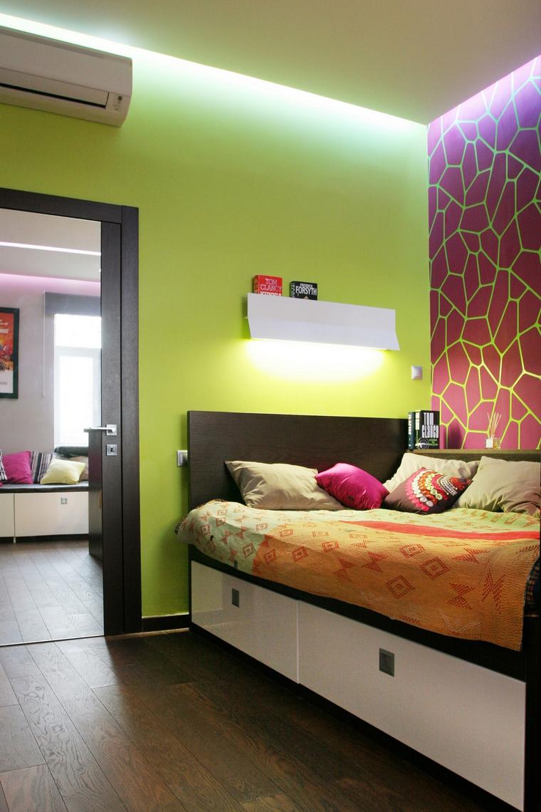 Фото № 63195 спальня  Квартира