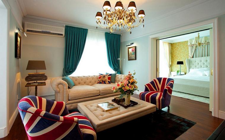 интерьер гостиной - фото № 63187