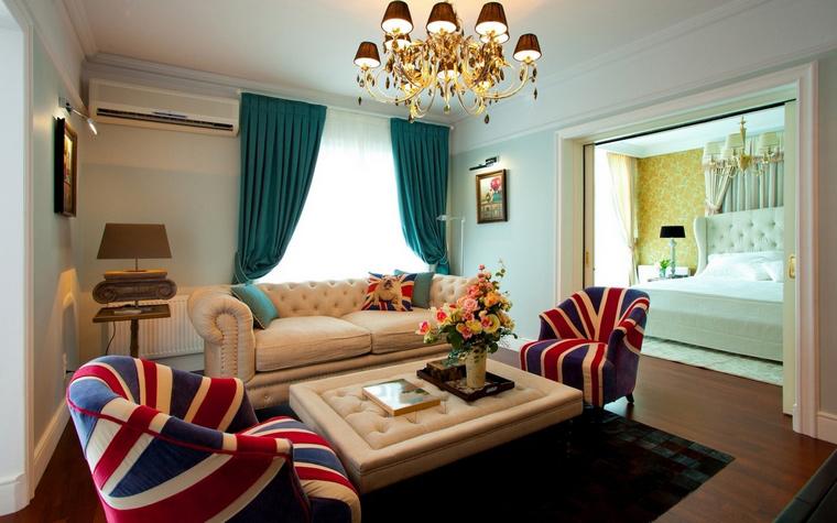 интерьер гостиной - фото № 63182