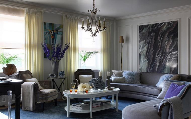 интерьер гостиной - фото № 63224
