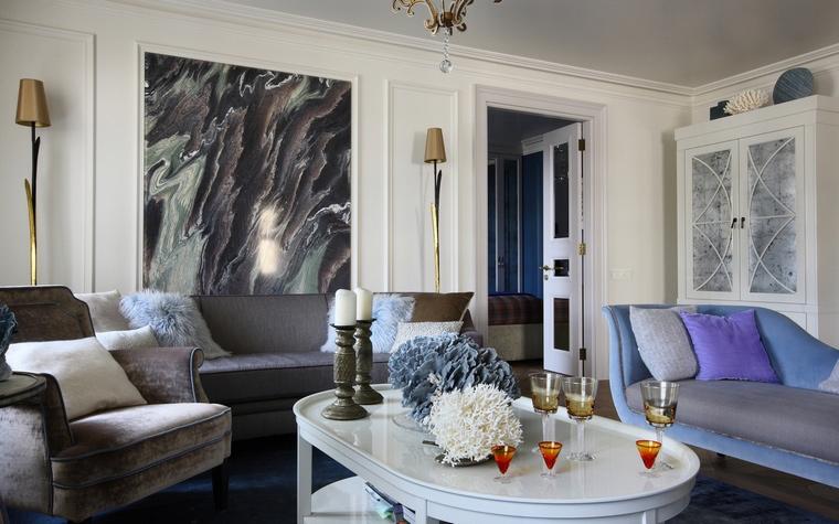 интерьер гостиной - фото № 63225