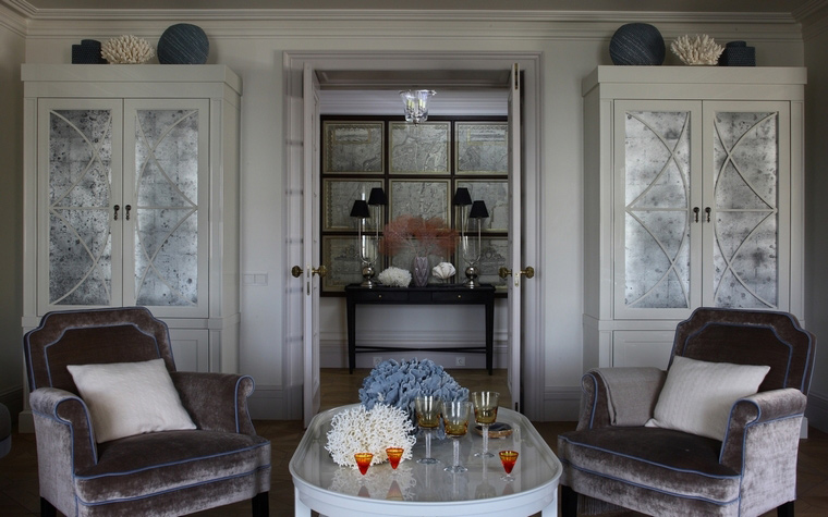 интерьер гостиной - фото № 63223