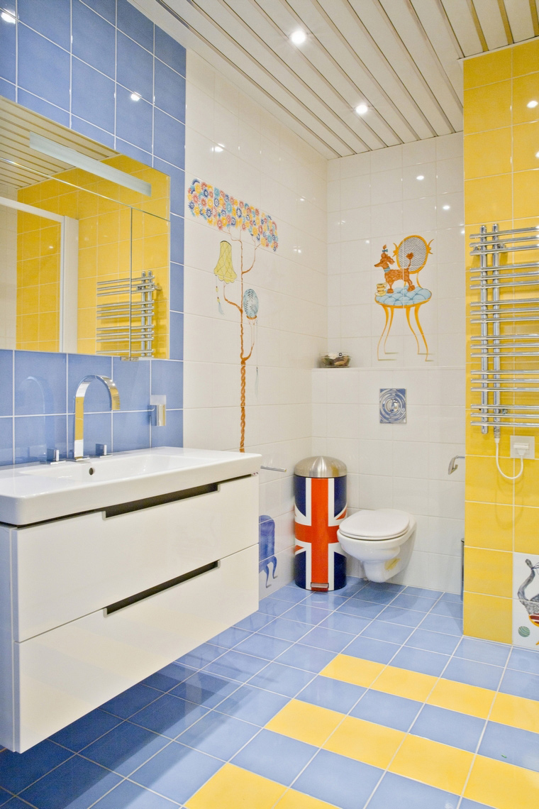 Фото № 63303 ванная  Квартира