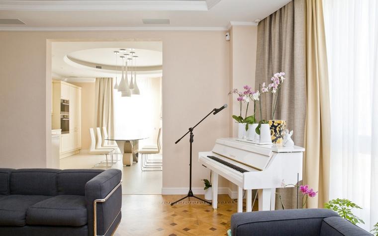Фото № 63290 гостиная  Квартира