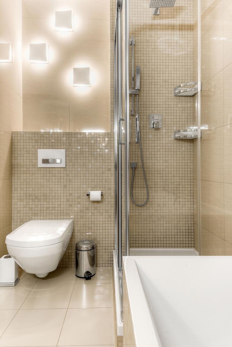 Квартира. ванная из проекта , фото №63353