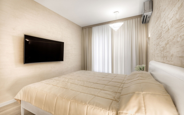 Квартира. спальня из проекта , фото №63338