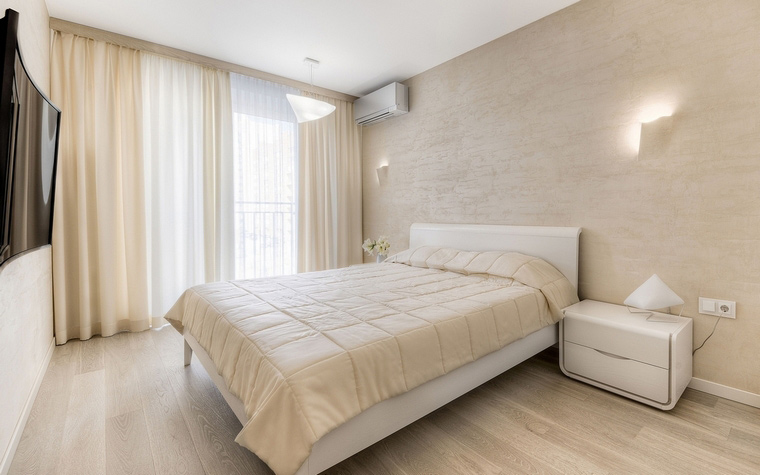 Квартира. спальня из проекта , фото №63342