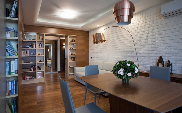 Фото № 63368 столовая  Квартира