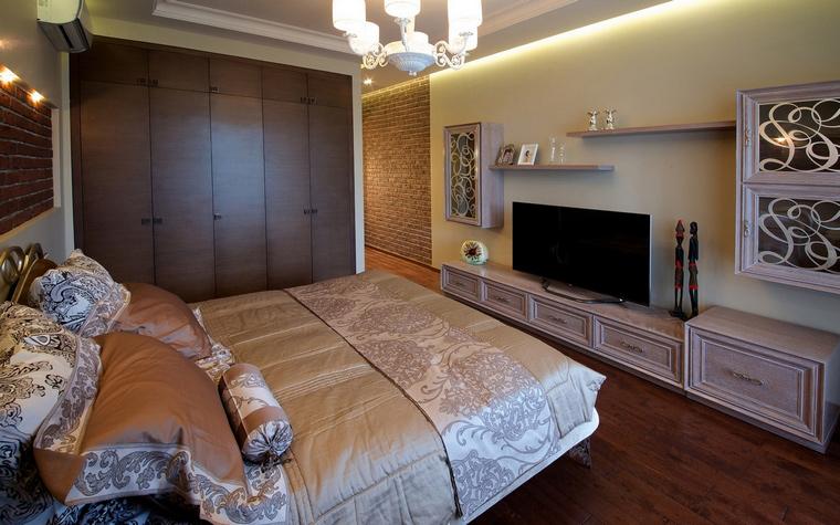 Фото № 63398 спальня  Квартира