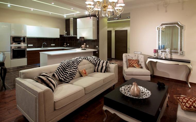 Фото № 63391 гостиная  Квартира