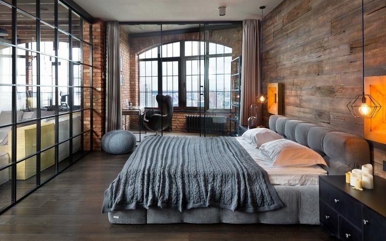 Квартира. спальня из проекта , фото №63517