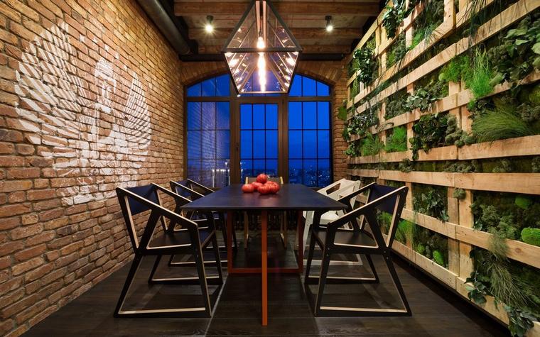 Квартира. столовая из проекта , фото №63511