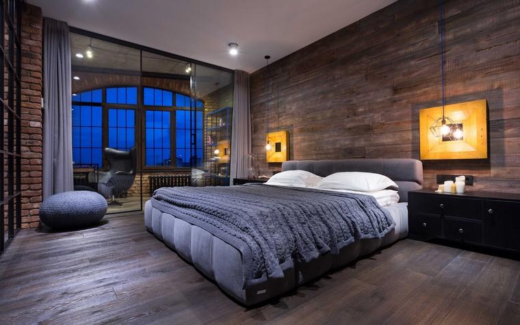 Квартира. спальня из проекта , фото №63515