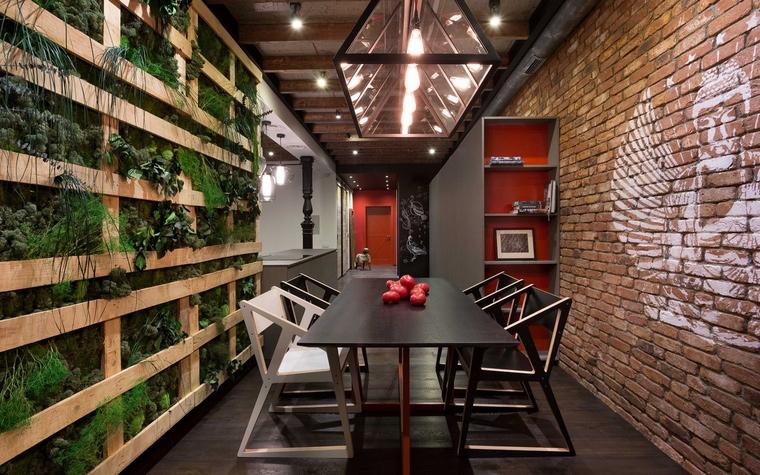Квартира. столовая из проекта , фото №63512