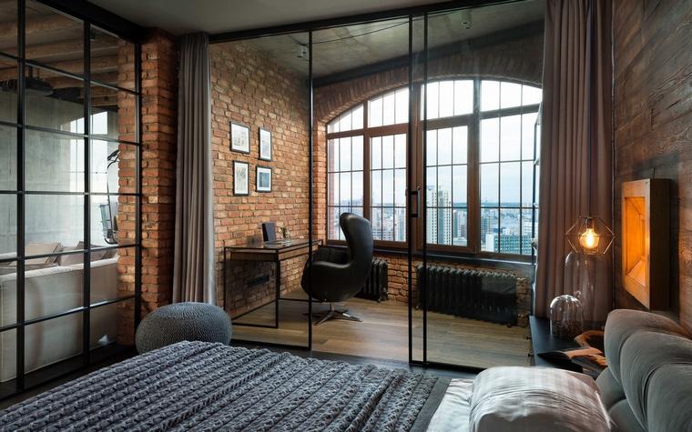 Квартира. спальня из проекта , фото №63518