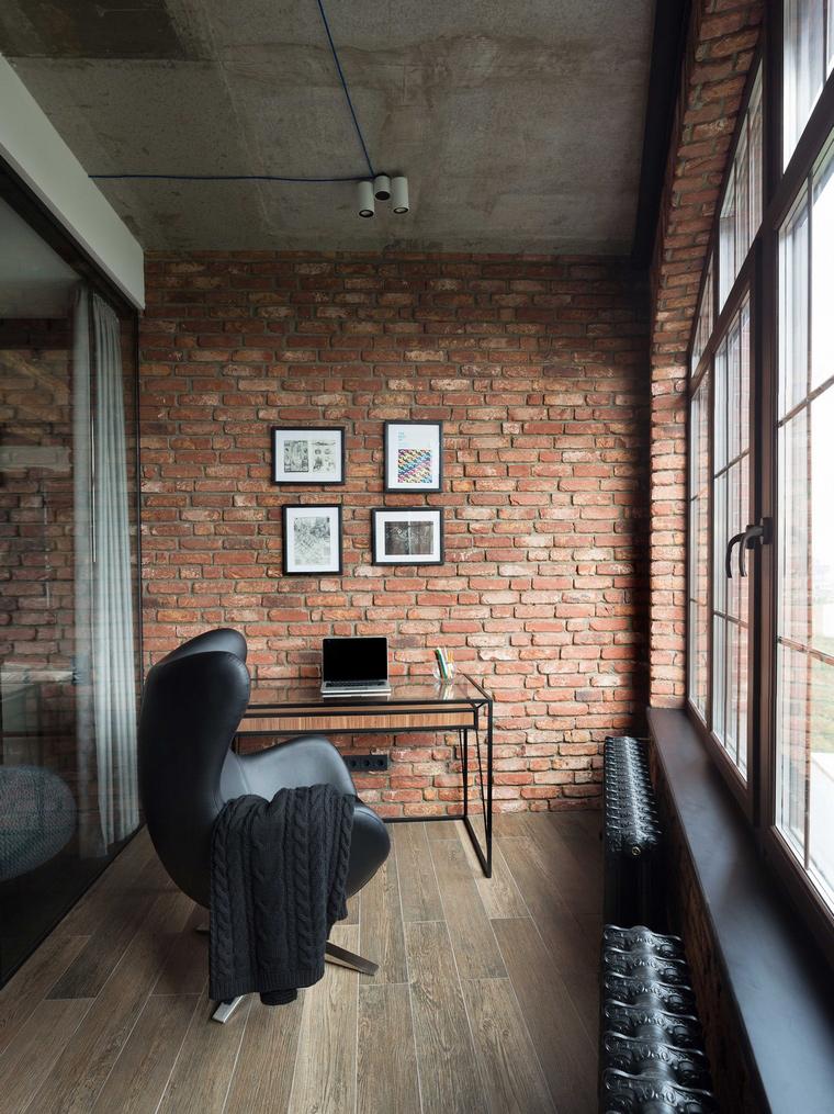 Квартира. веранда лоджия из проекта , фото №63525