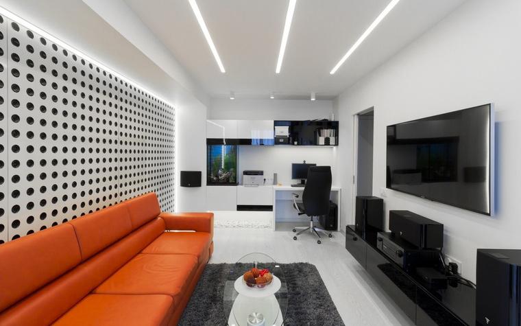 интерьер гостиной - фото № 63576