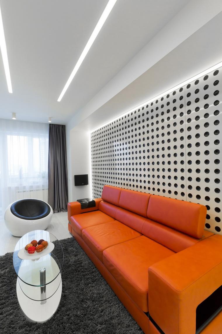 интерьер гостиной - фото № 63569