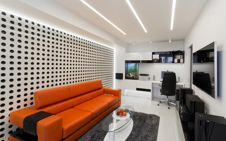 интерьер гостиной - фото № 63571