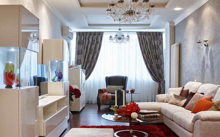 интерьер гостиной - фото № 63590