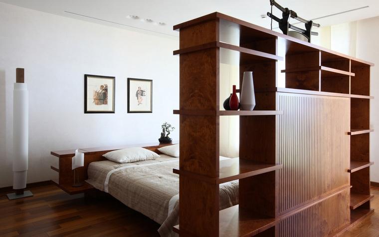 Квартира. спальня из проекта , фото №63719