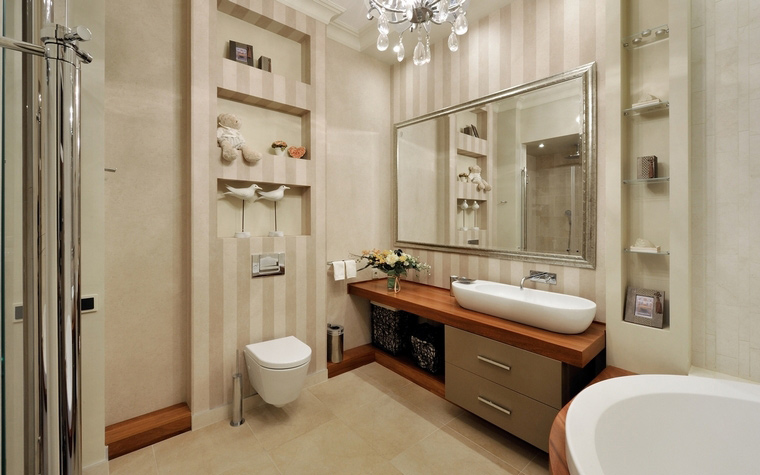 Фото № 63731 ванная  Квартира