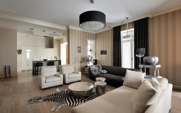 Фото № 63725 гостиная  Квартира
