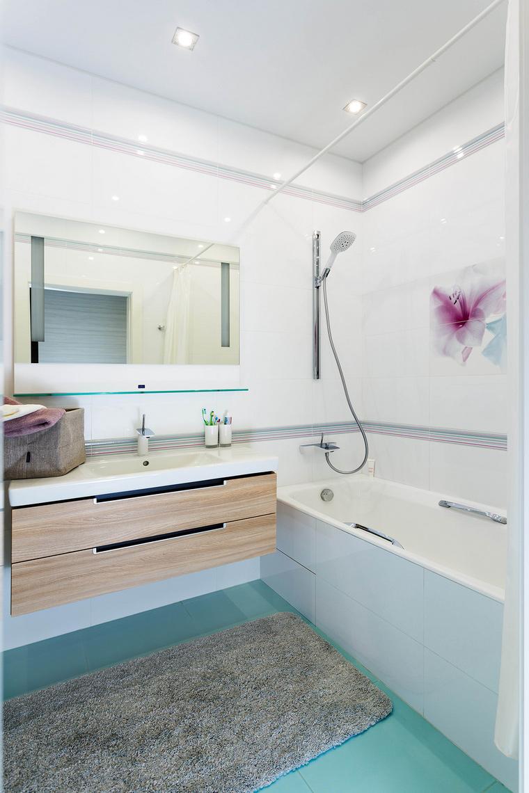 Квартира. ванная из проекта , фото №63751