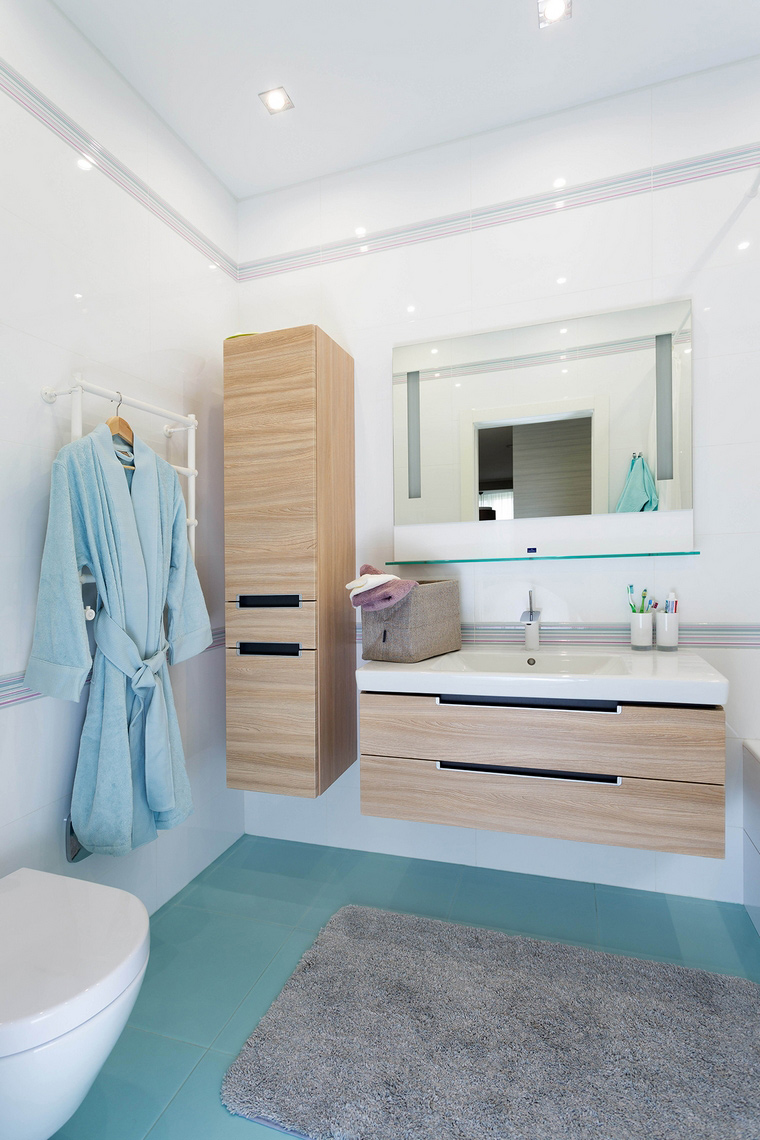 Квартира. ванная из проекта , фото №63752