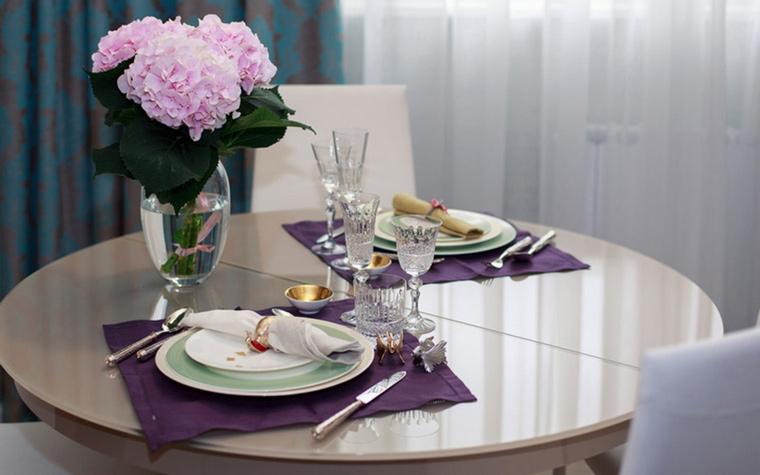 Квартира. столовая из проекта , фото №63744