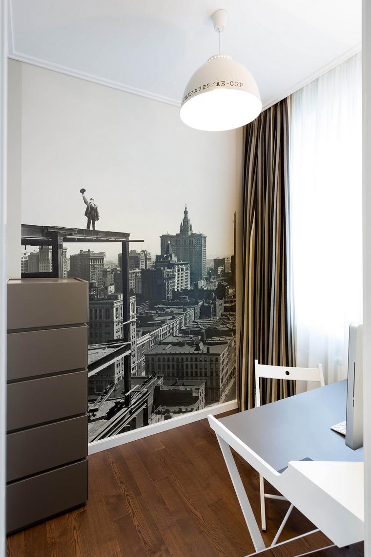 Квартира. кабинет из проекта , фото №63747