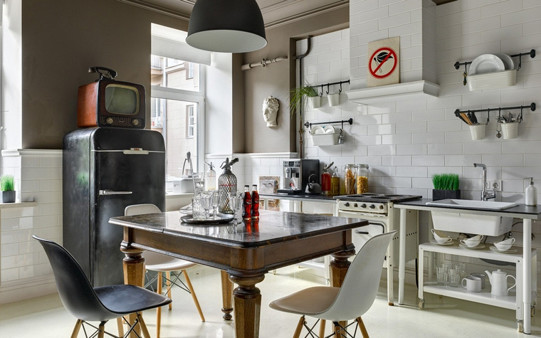 Фото № 63760 кухня  Квартира