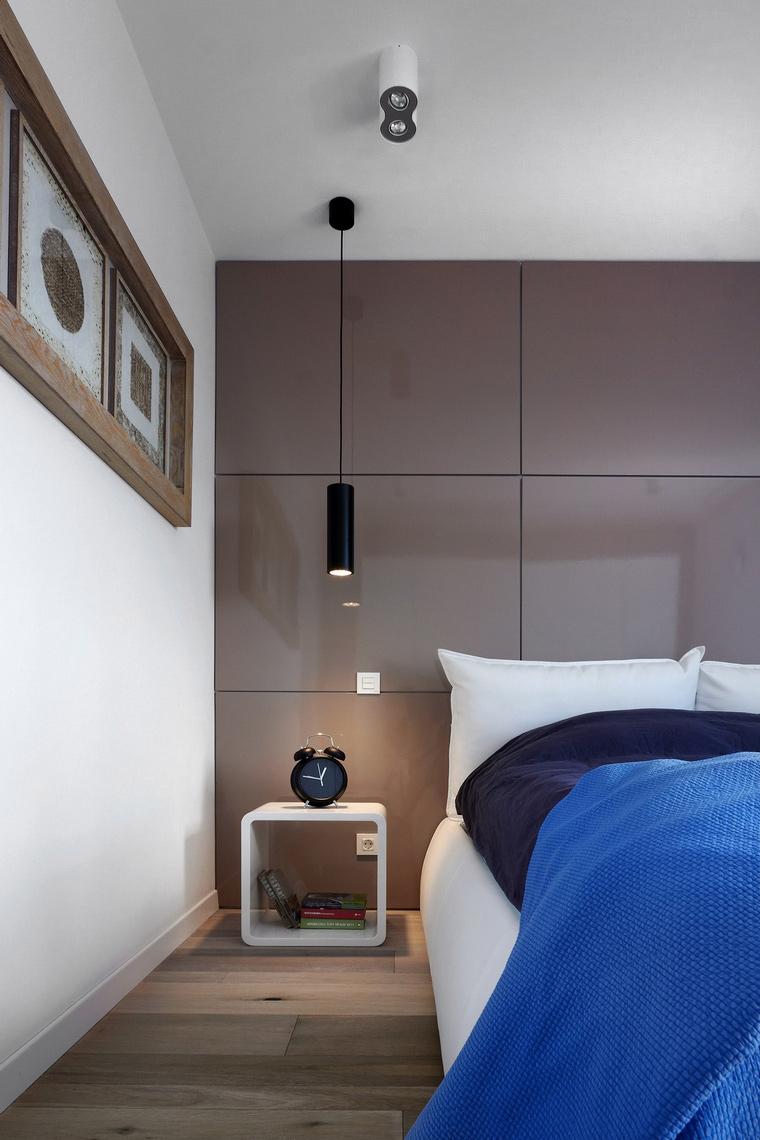 Квартира. спальня из проекта , фото №63798