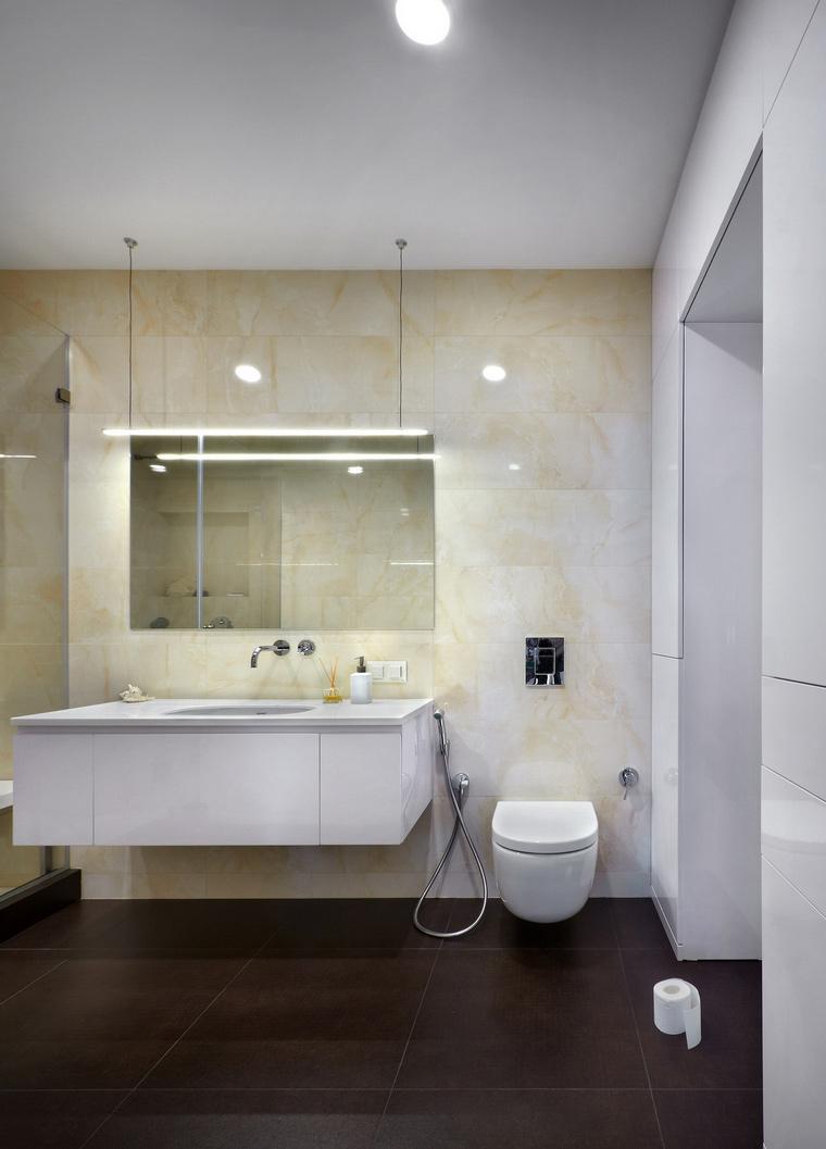 Квартира. ванная из проекта , фото №63800