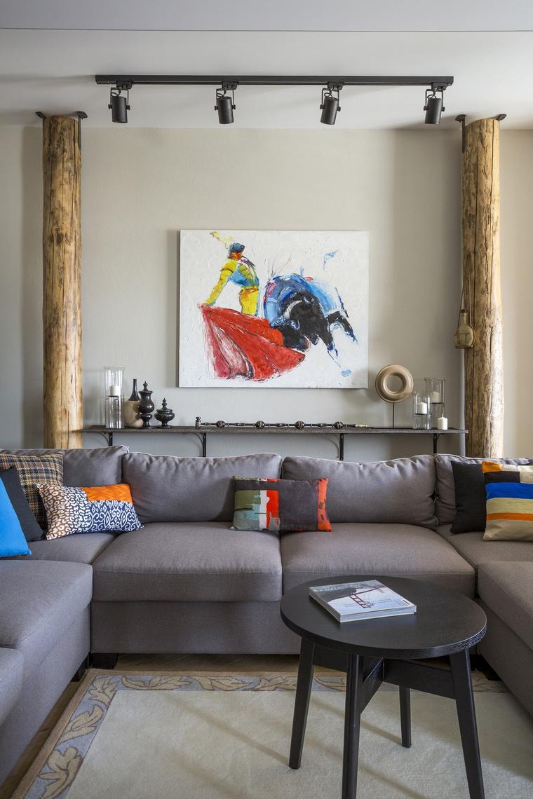интерьер гостиной - фото № 63955
