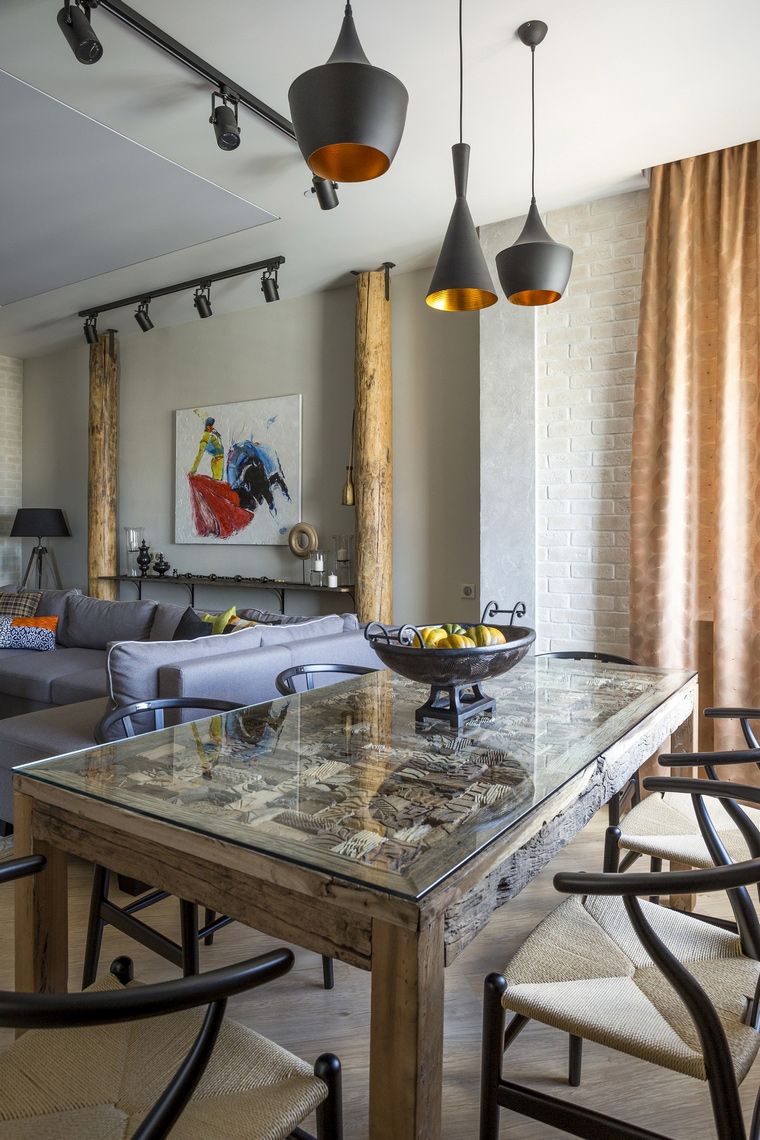 интерьер гостиной - фото № 63957