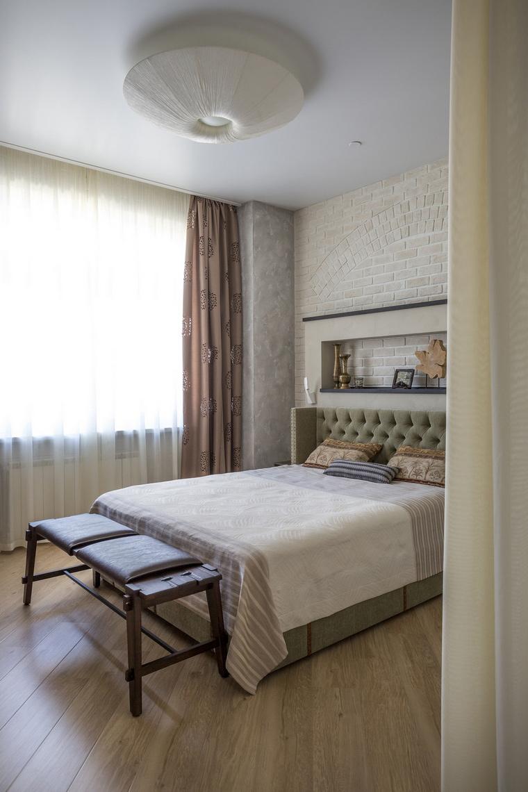 Квартира. спальня из проекта , фото №63976