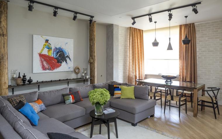 интерьер гостиной - фото № 63960