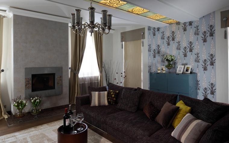 Фото № 63991 гостиная  Квартира